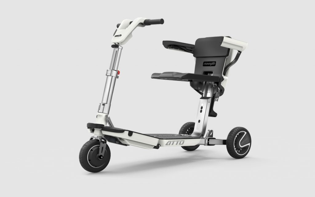 folding mobility scooters
